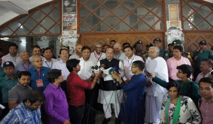 কঠোর নিরাপত্তায় এমবিবিএস ভর্তি পরীক্ষা অনুষ্ঠিত