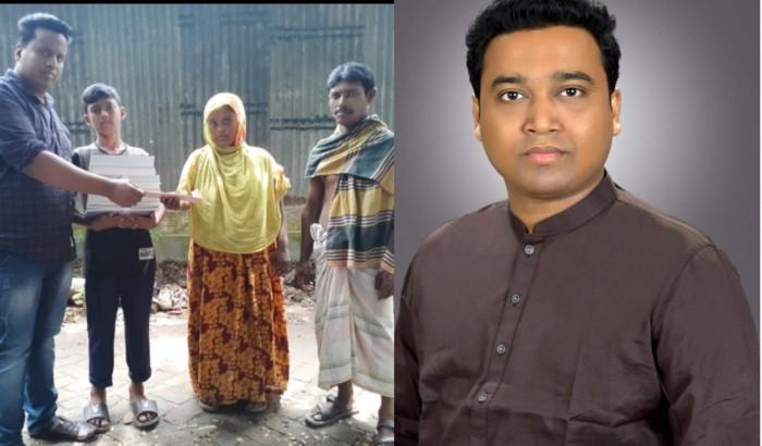 দরিদ্র ছাত্র আব্দুল্লাহর পাশে গোলাম রাব্বানী