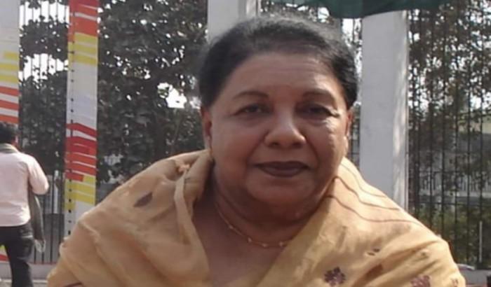 দেশের প্রথম নারী জাতীয় অধ্যাপকের ইন্তেকাল
