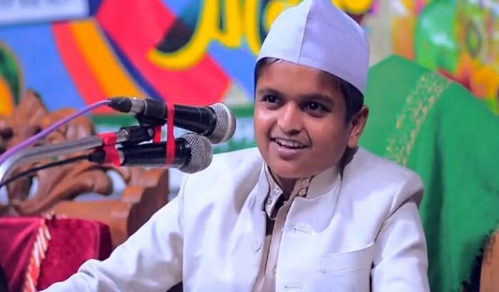'মাদানী' উপাধি ভুয়া: শিশু বক্তাকে লিগ্যাল নোটিশ