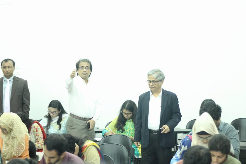 ঢাকা বিশ্ববিদ্যালয়ে 'ঘ' ইউনিটের ভর্তি পরীক্ষা সম্পন্ন