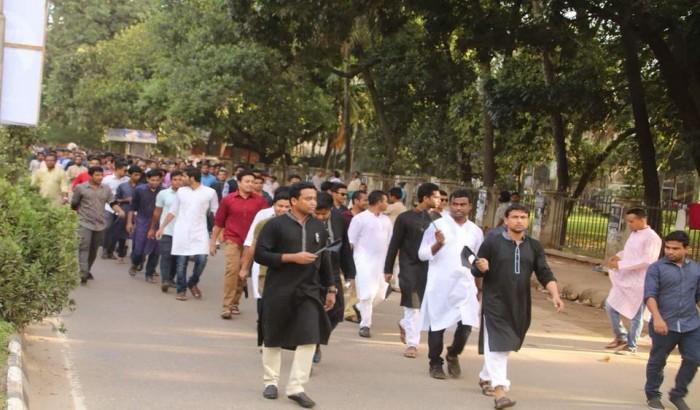 জঙ্গীবাদ দমাতে ছাত্রলীগ কঠোর পদক্ষেপ নিবে: গোলাম রাব্বানী