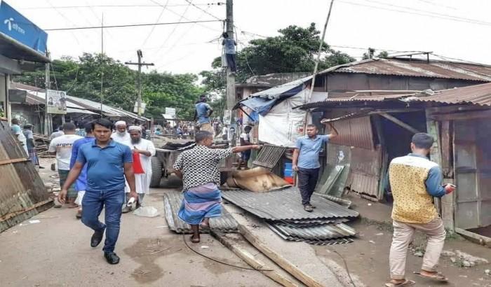 Padma erosion making people destitute in Naria