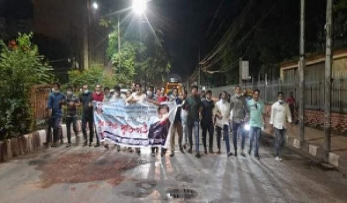 ছাত্রদলের সাবেক জিএস আটক: ঢাকায় ১০মিনিটের প্রতিবাদ