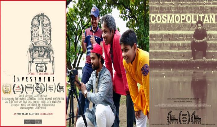 কলকাতার স্বল্পদৈর্ঘ্য চলচ্চিত্র উৎসবে সেরা পরিচালক ঢাবি শিক্ষার্থী