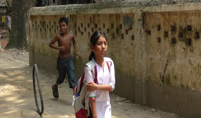 কল্যাণপুর বস্তিতে নেই সরকারি স্কুল