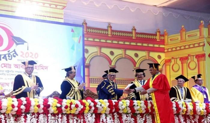 নিয়ম মেনেই জবি প্রক্টরের পিএইচডি অর্জন: জবি ভিসি