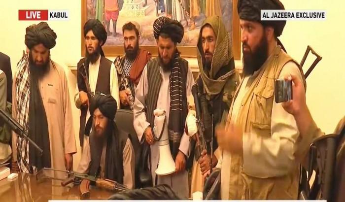 আফগানিস্তানের প্রেসিডেন্ট প্যালেস তালেবানের দখলে