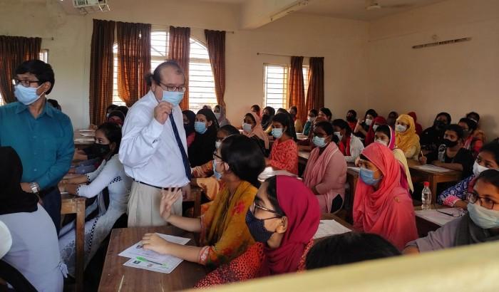 বরিশাল বিশ্ববিদ্যালয় কেন্দ্রে সুষ্ঠুভাবে 'ক' ইউনিটের পরীক্ষা সম্পন্ন