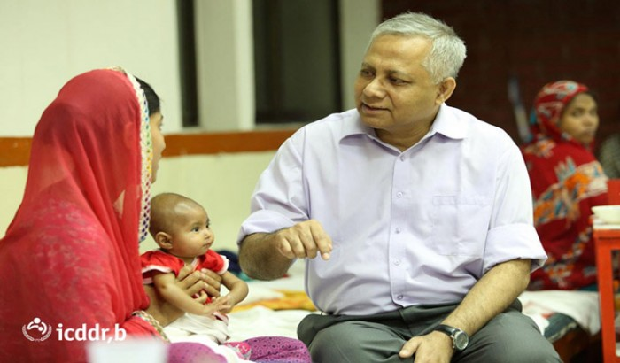 Dr Tahmeed 1st Bangladeshi to be appointed executive director of icddr'b