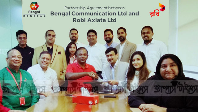 Robi and Bengal Communications sign corporate agreement