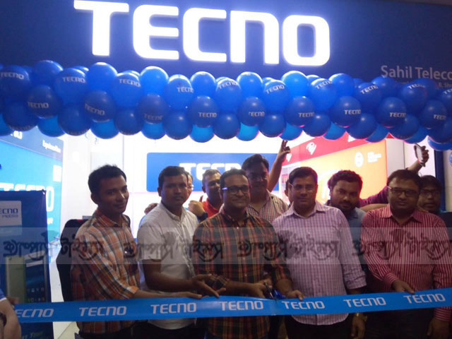 TECNOMobile has inaugurated their brand shop in Bashundhara City