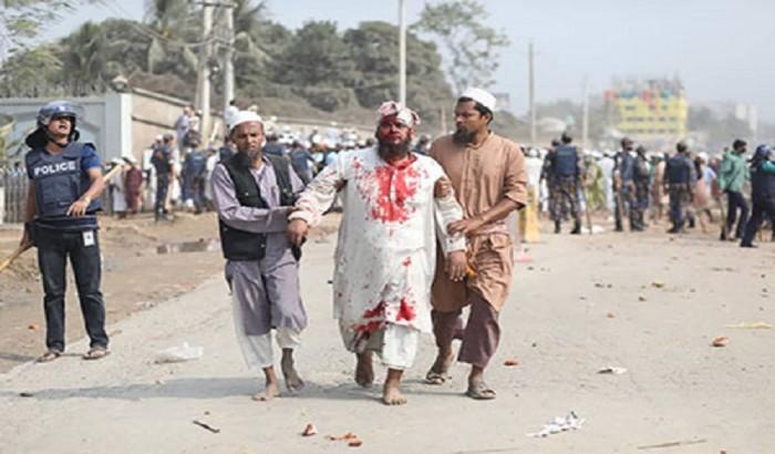 'তাবলিগ জামাত সংঘর্ষে ৮৯৬ মাদ্রাসা শিক্ষার্থী আহত'
