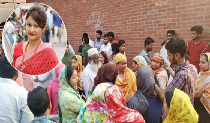সড়ক দুর্ঘটনায় নিহত সহপাঠীকে দেখতে মর্গে ভিড় ব্র্যাক বিশ্ববিদ্যালয় শিক্ষার্থীদের