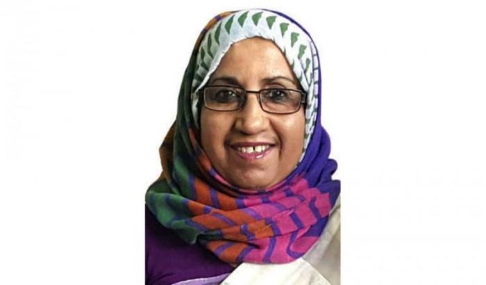 ইউজিসি'র প্রথম নারী অধ্যাপক ড. হাসিনা খান