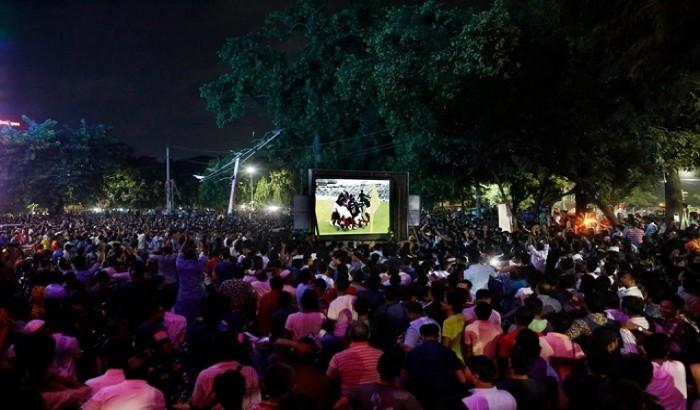 ফিফার অফিসিয়াল পেজে ঢাবির টিএসসির উল্লাস