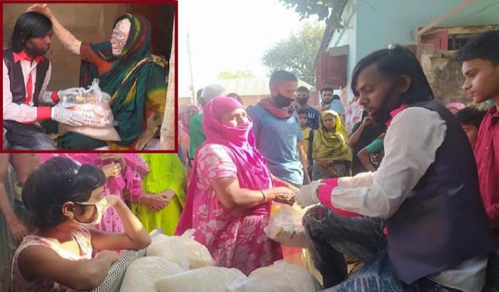 নিজের টাকায় ৫০০ পরিবারকে খাদ্য সামগ্রী দিলো হিরো আলম