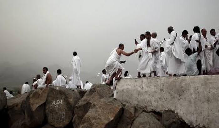 লাব্বাইক ধ্বনিতে মুখরিত আরাফাত ময়দান
