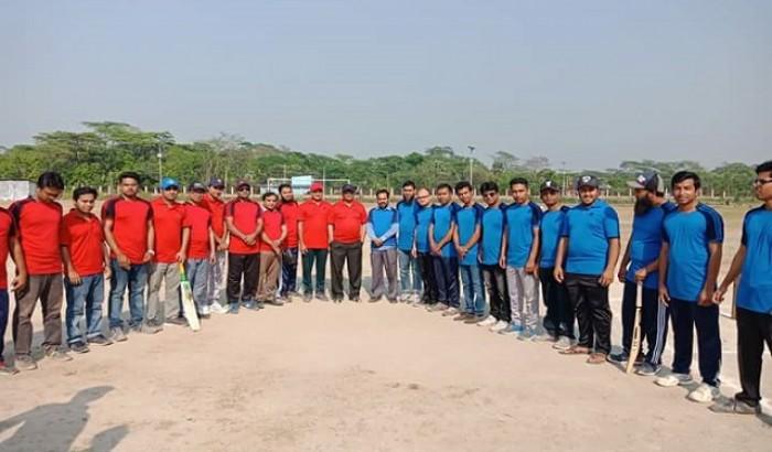 ববিতে শিক্ষকদের স্বাধীনতা কাপ ক্রিকেট টুর্নামেন্ট ২০১৮ উদ্বোধন