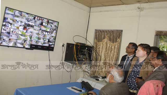 সিসি টিভি ক্যামেরার আওতায় বাংলাদেশ কৃষি বিশ্ববিদ্যালয়
