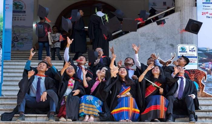ঢাকা বিশ্ববিদ্যালয়ের ৫২তম সমাবর্তন চলছে