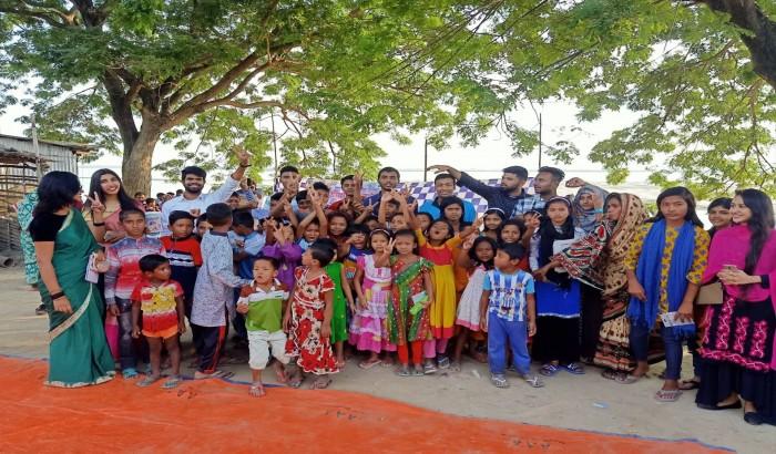 'সেভ দ্যা ট্যুমোরো-রাবি' শাখার উদ্যোগে ক্রীড়া ও চিত্রাঙ্কন প্রতিযোগিতা