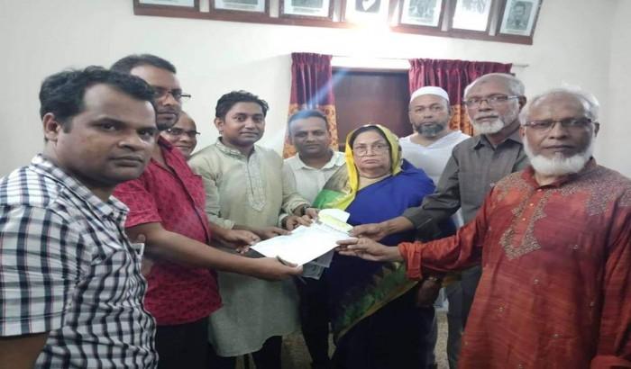 বিএনপি'র মনোনয়ন পত্র কিনলেন ছাত্রদল নেতা মামুন