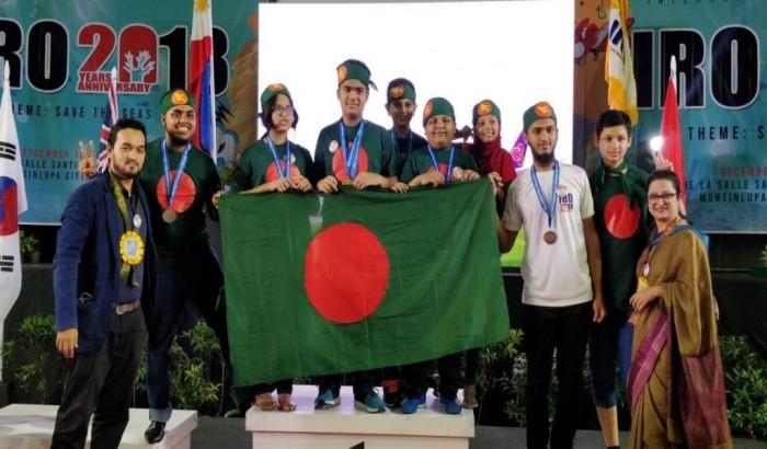 আন্তর্জাতিক রোবট অলিম্পিয়াডে বাংলাদেশের প্রথম স্বর্ণ
