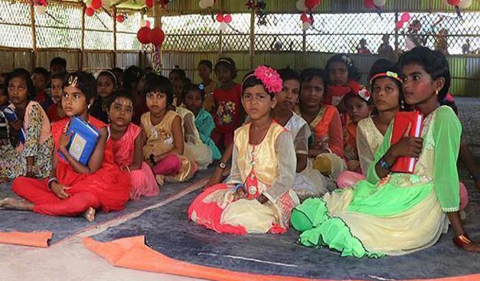 রোহিঙ্গা ক্যাম্পে তুরস্কের শিক্ষা কেন্দ্র স্থাপন