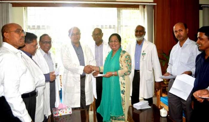 বঙ্গবন্ধু শেখ মুজিব মেডিক্যাল বিশ্ববিদ্যালয়ের ২৯ শিক্ষককে গবেষণা মঞ্জুরি প্রদান
