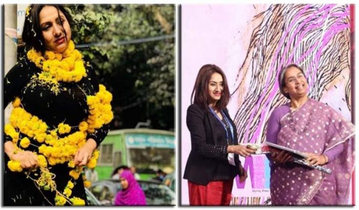 দেহে ফুল জড়িয়ে ট্রলড ঢাবির মেয়েটি নর্থ সাউথ বিশ্ববিদ্যালয়ের শিক্ষক